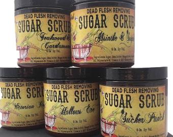 Coffin Candy organic vegan Sugar Scrub