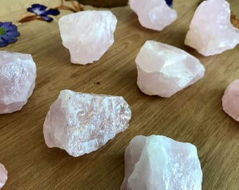 1 Piece of Rough Rose Quartz