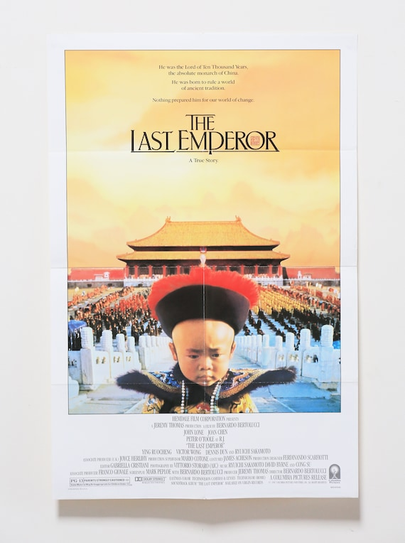 Original Theatrical One Sheet Film Poster - The Last Emperor