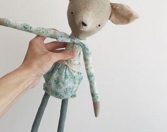 domesticated wood sprite prototype | handmade cloth doll