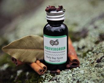 Beard Oil, Beard Care, Beard Tonic, Organic Beard Oil, Natural Beard Oil, Mens Grooming, Bay Rum, Bay Rum Oil, Cedarwood