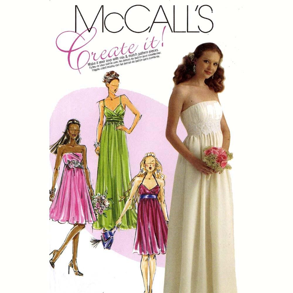 Fantastisch Brautjungfer Kleid Muster Zu Nähen Fotos - Brautkleider ...