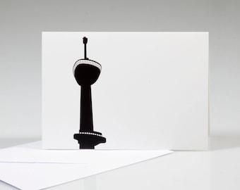 Folded Card, Euromast (PR004)