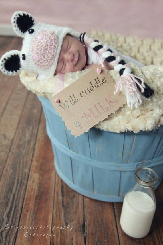 Baby Farm Animals, Baby Farm Birthday Baby Shower, Farm Animal Nursery, Baby Cowboy Cowgirl, Baby Calf, Newborn Farmer, Farm Animal Costume