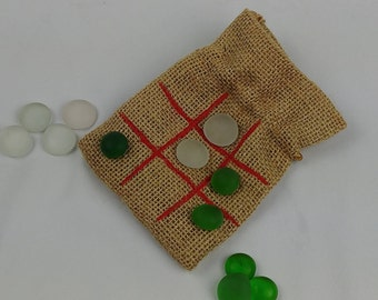 Tic Tac Toe Game / Wedding Favor / Party Favor