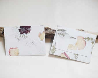 Large Flower Paper Notecard Greeting Card Envelope Stationary