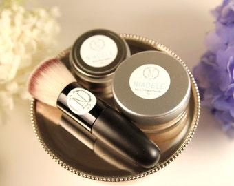 Basic Combo | Powder and Face Balm with 40% off Brush