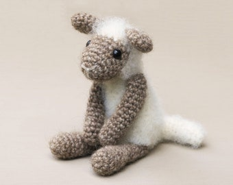 Crochet lamb sheep pattern amigurumi