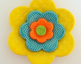 AMAZING Flower Ceramic Tile