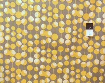 Amy Butler AB26 Midwest Modern Martini Mustard Cotton Fabric 1 Yard