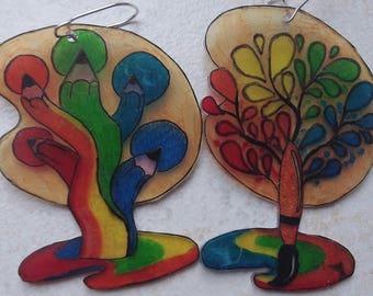 earring tree by artist