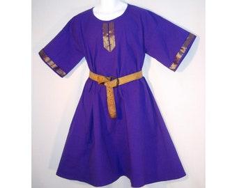 Sz M Medieval Cotton Norman, Saxon, or Viking Tunic SCA, LARP