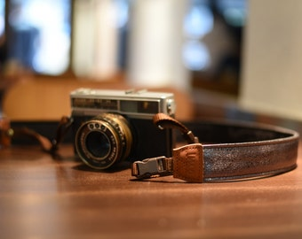 iMo Metallic Mirror camera strap suits for DSLR / SLR with quick release buckles