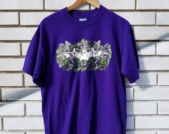 Prince Purple Rain Doves Cry T-shirt by Goodies and Co