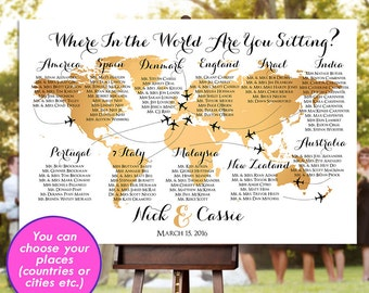 World map seating etsy gumiabroncs Image collections
