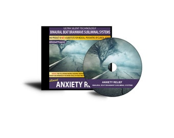 Anxiety Relief (Subliminal Messages & Binaural Beats)