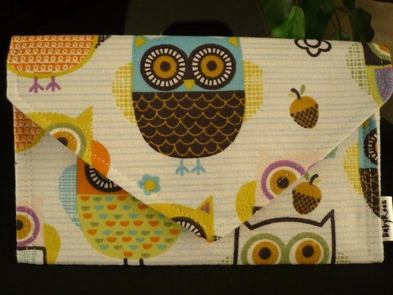 Owl Wallet/ Cell Phone Purse