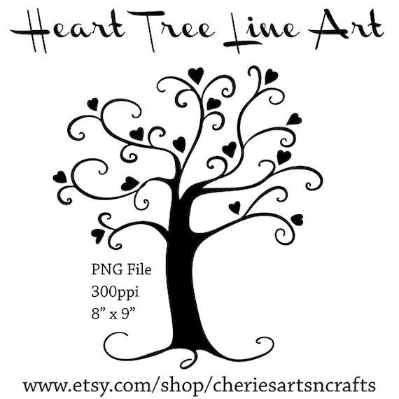 Herz Baum Silhouette Baum-Silhouette-PNG-Datei Baum