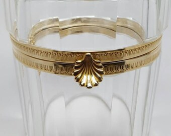Crystal Jewelry Casket/Box. Cristal Freres Martin BenitoBlack Friday Sale
