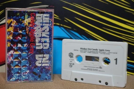 Candy Apple Grey by Hüsker Dü Vintage Cassette Tape
