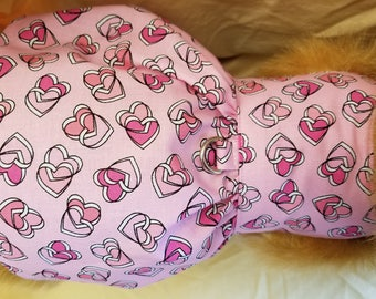 Pink Hearts Dog or Cat Dress