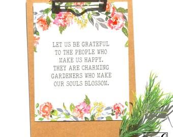 Charming Gardeners 8x10 Print // from Manda Julaine Designs