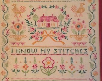 Grandmother's Cross Stitch Sampler
