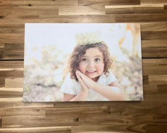PERSONALIZED Canvas Photo