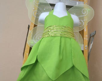 TINKERBELL Dress and Wings Set