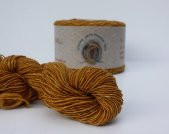 Spinning Yarns Weaving Tales - Tirchonaill 534 Golden Yellow 100% Merino 4ply