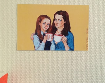 Gilmore Girls - Small Print Card