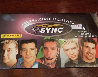 1999 - NSYNC 108 Photo Card Collection unopened - 6 cards