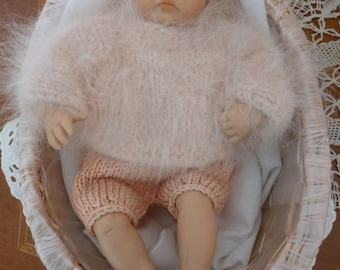 """Repro//doll//Baby//by Helga Matejka//approx. 20 cm/7.9 """""""
