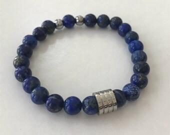 Men's Blue Sodalite Bracelet