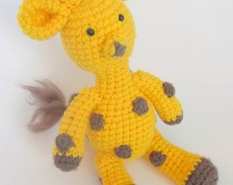 Amigurumi Giraffe PDF Crochet Pattern INSTANT DOWNLOAD