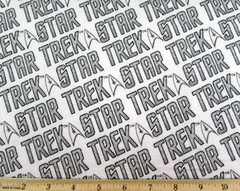 Star Trek Fabric FLANNEL From Camelot