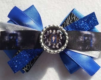 Doctor Who Hair Bow (bow 1)