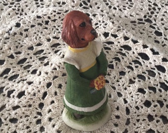 "Puppy Dogs Tails Robert Harrop Figurine ""I call always a bridesmaid never a bride"""