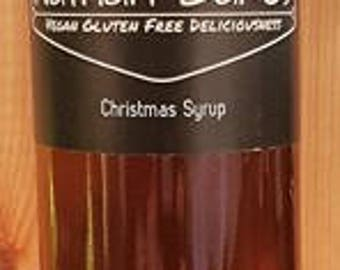 Christmas Syrup - Vegan and Gluten Free
