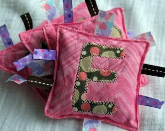 Pink Custom Name Bean Bags