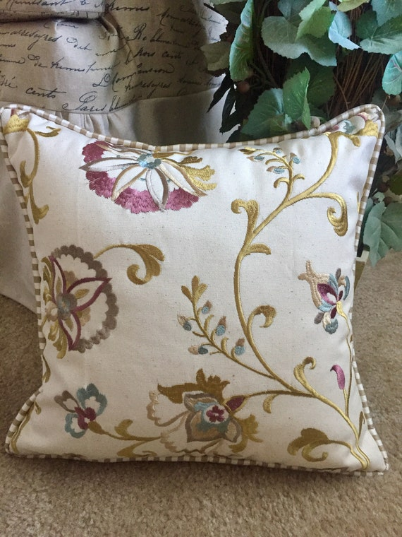 Floral Pillow Cover French Country Throw Pillow Decorative Beauteous Country Throw Pillows Decorative