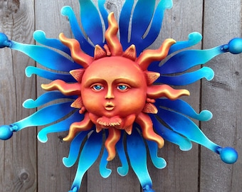 Blowing Kisses Baby Sun Wall Home Decor