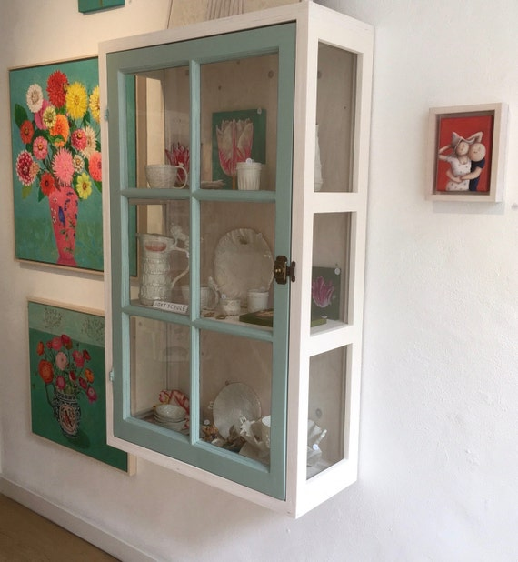 Awesome Hanging China Cabinet #13 - Hanging Display Cabinet