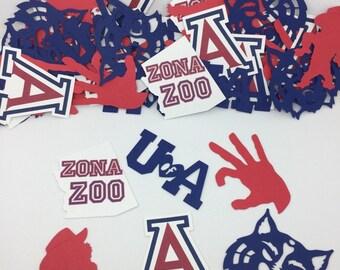 U of A / University of Arizona / Wildcats Confetti