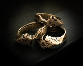 Bronze Arrowhead Ring