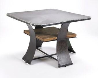 Wood & Metal Table Custom Listing
