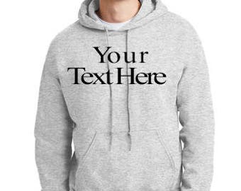 You Design Custom Men's Hoodie