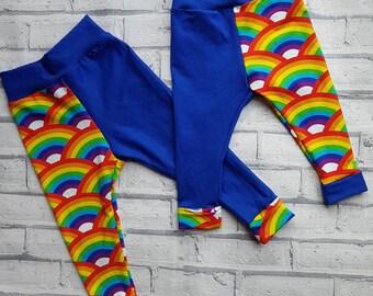 Ollie Split Pants - Baby Leggings - kids Leggings – Children's Leggings - Baby Shower Gift - Boys Pants - Girls Pants - Toddler Leggings