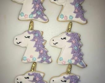 Unicorn Decorated Cookies 18