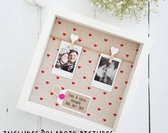 Boyfriend Gift / Girlfriend Gift /Wedding Gift / Engagement Gift/Boyfriend Frame /Anniversary Gift / Anniversary Gift / Engagement Frame